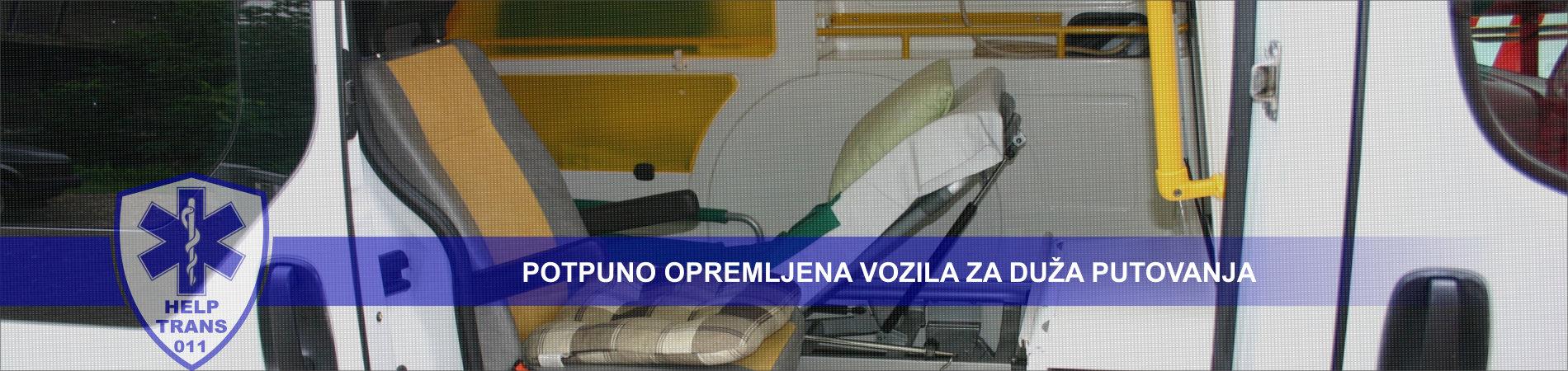 Potpuno opremljena vozila za duža putovanja